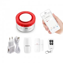 WIFI Smart Sirena Alarma...