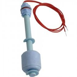 Broco PP Montaje lateral Sensores de nivel de agua de alta presi/ón Interruptores de flotador de l/íquido Interruptor de flotador de l/íquido horizontal Sensor de nivel de agua para tanque de acuario