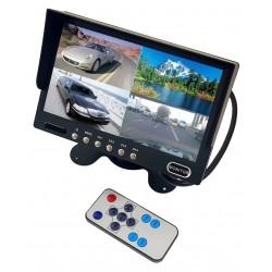 Monitor LCD 7 Telecomando...