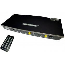 Switch HDMI 2.0 4X1 4K UHD...