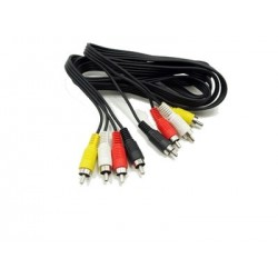 Kabel 4x CINCH wtyk-4x...