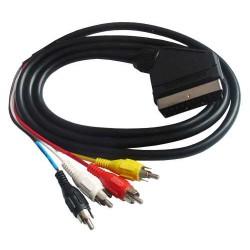 EURO (SCART) cable - 4 RCA...
